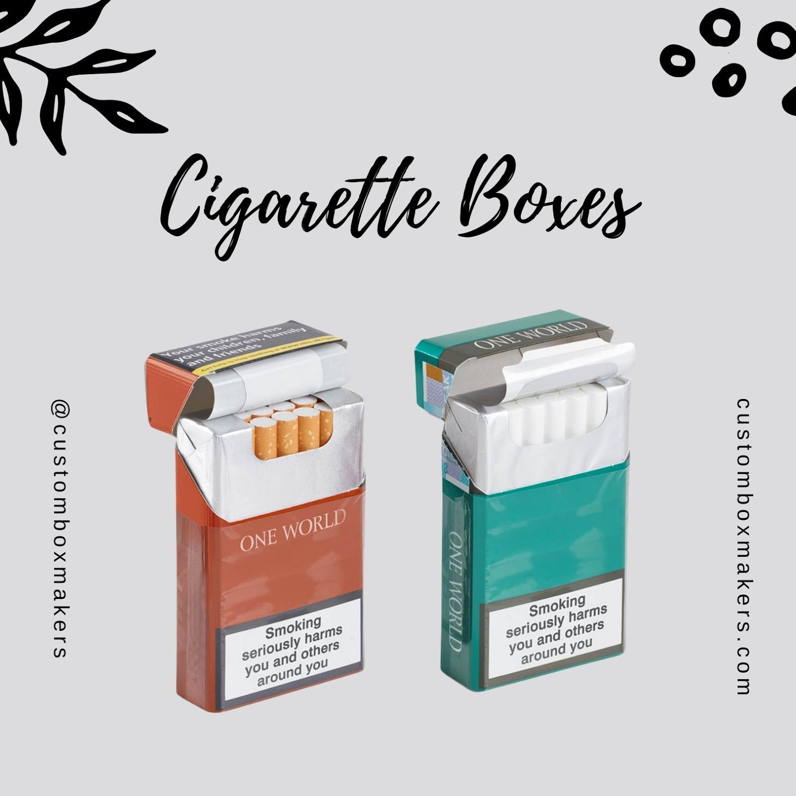 Use Custom Cigarette Boxes to Beat Competition